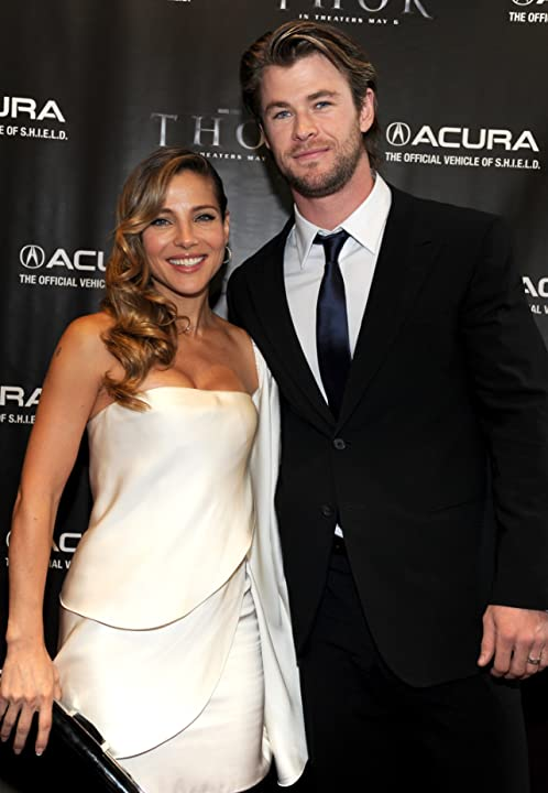 Elsa Pataky and Chris Hemsworth at Thor (2011)