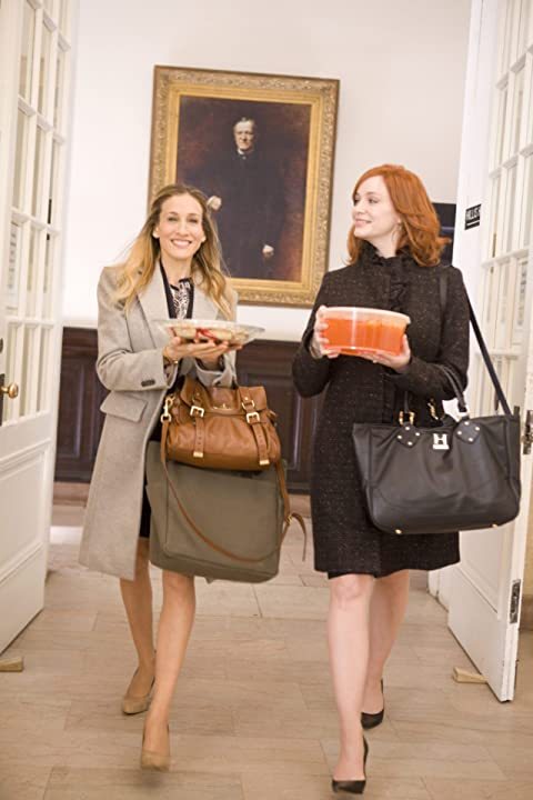 Sarah Jessica Parker and Christina Hendricks in I Don't Know How She Does It (2011)