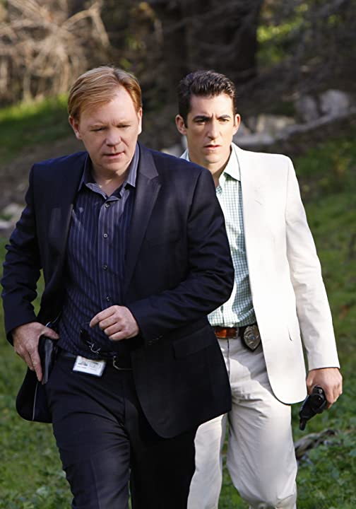 David Caruso and Jonathan Togo in CSI: Miami (2002)