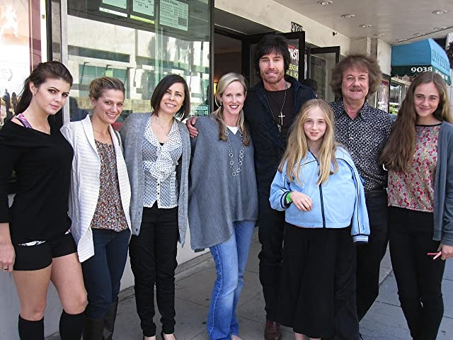 Famous Monsters Film Festival Beverly Hills screening - April 8, 2011. (left to right) Marlene Mc'Cohen, Kandis Erickson, Shawna Baca, Erica Hanson, Ronn Moss, Victoria Rose Plumb, Edward L. Plumb, Elizabeth Anne Plumb.