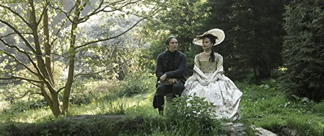 Mads Mikkelsen and Alicia Vikander in A Royal Affair (2012)