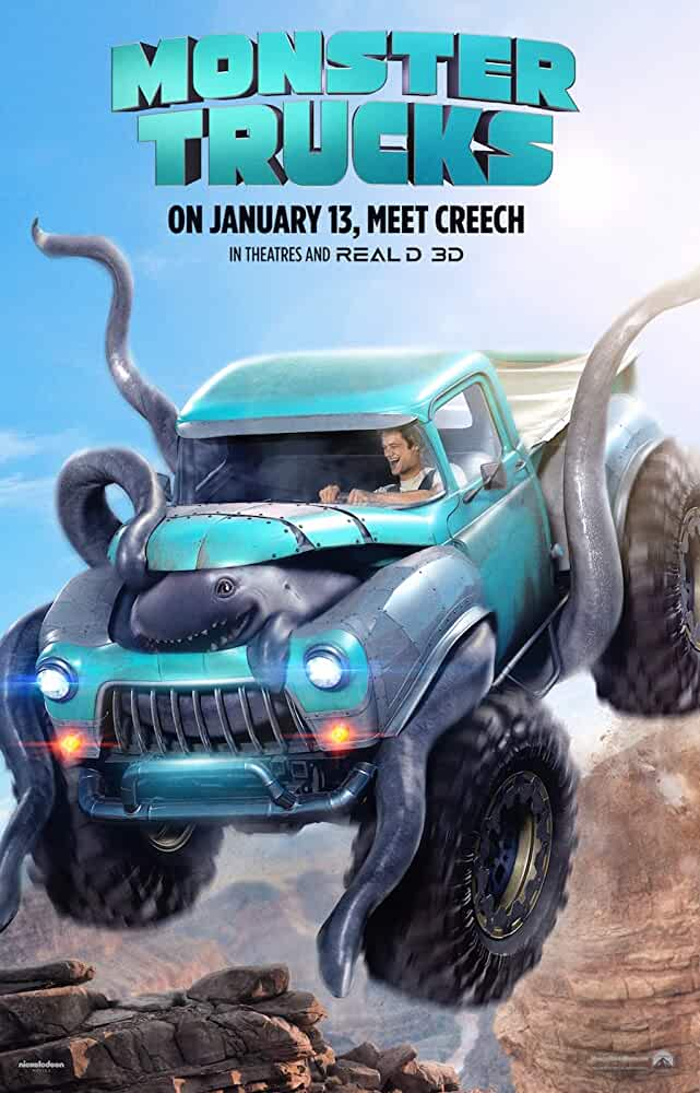 Monster Trucks 2016 Dual Audio 720p BluRay full movie watch online freee download at movies365.ws