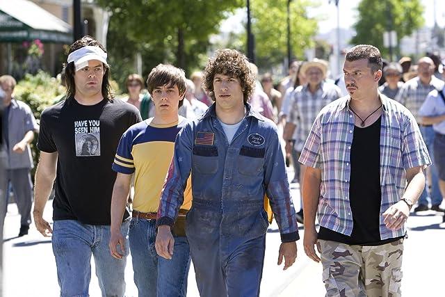 Bill Hader, Danny McBride, Jorma Taccone, and Andy Samberg in Hot Rod (2007)