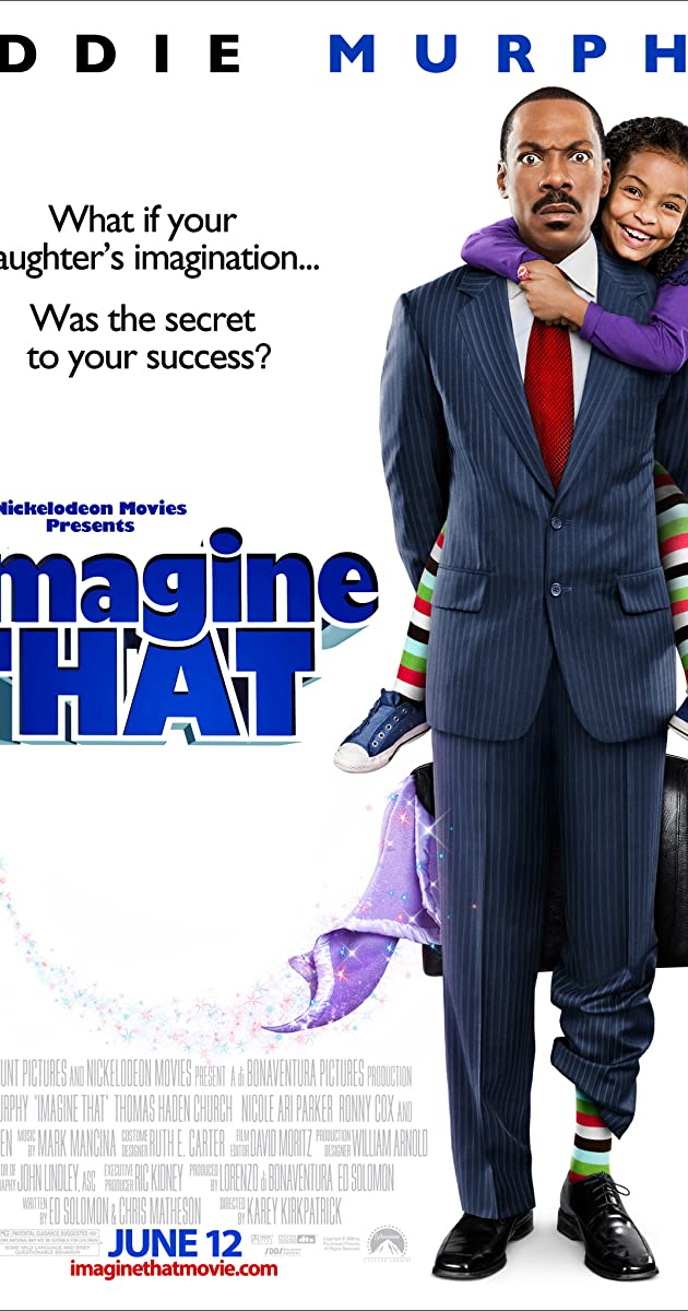 Įsivaizduok tai / Imagine That (2009) Online