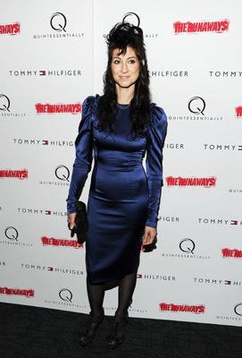 Floria Sigismondi at an event for The Runaways (2010)