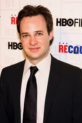 Danny Strong at an event for Recount (2008)