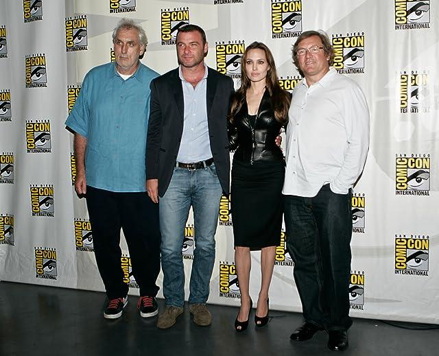 Liev Schreiber, Angelina Jolie, Lorenzo di Bonaventura, and Phillip Noyce in Salt (2010)