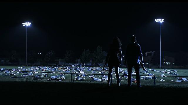 Still of Devon Bostick and April Mullen in Dead Before Dawn 3D. www.deadbeforedawn3d.com
