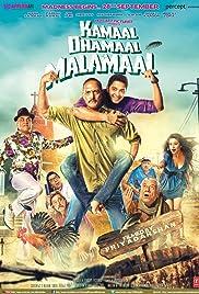 Kamaal Dhamaal Malamaal(2012) Poster - Movie Forum, Cast, Reviews