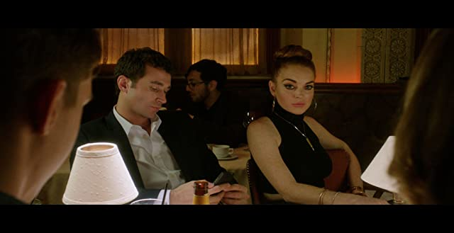 Lindsay Lohan and James Deen in The Canyons (2013)