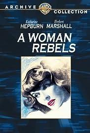 A Woman Rebels Poster