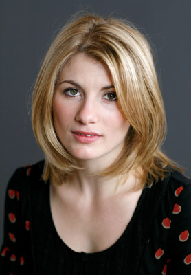 Il 36-anni, 167 cm alto Jodie Whittaker in 2018 photo