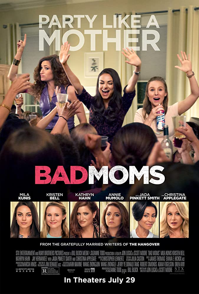 Bad Moms 2016 720p BRRip eng Watch Online Free Download