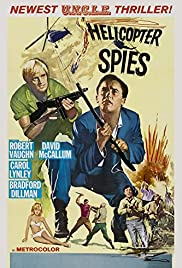 The Helicopter Spies Poster