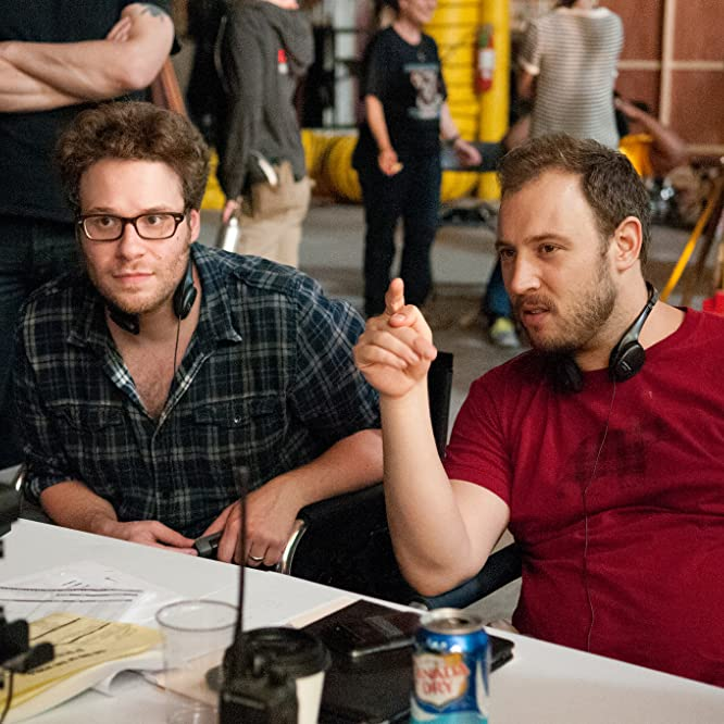 Seth Rogen and Evan Goldberg in This Is the End (2013)