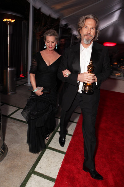 Jeff Bridges and Susan Bridges at event of The 82nd Annual Academy Awards