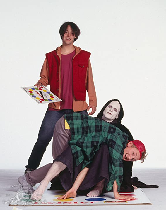Keanu Reeves, William Sadler, and Alex Winter in Bill & Ted's Bogus Journey (1991)