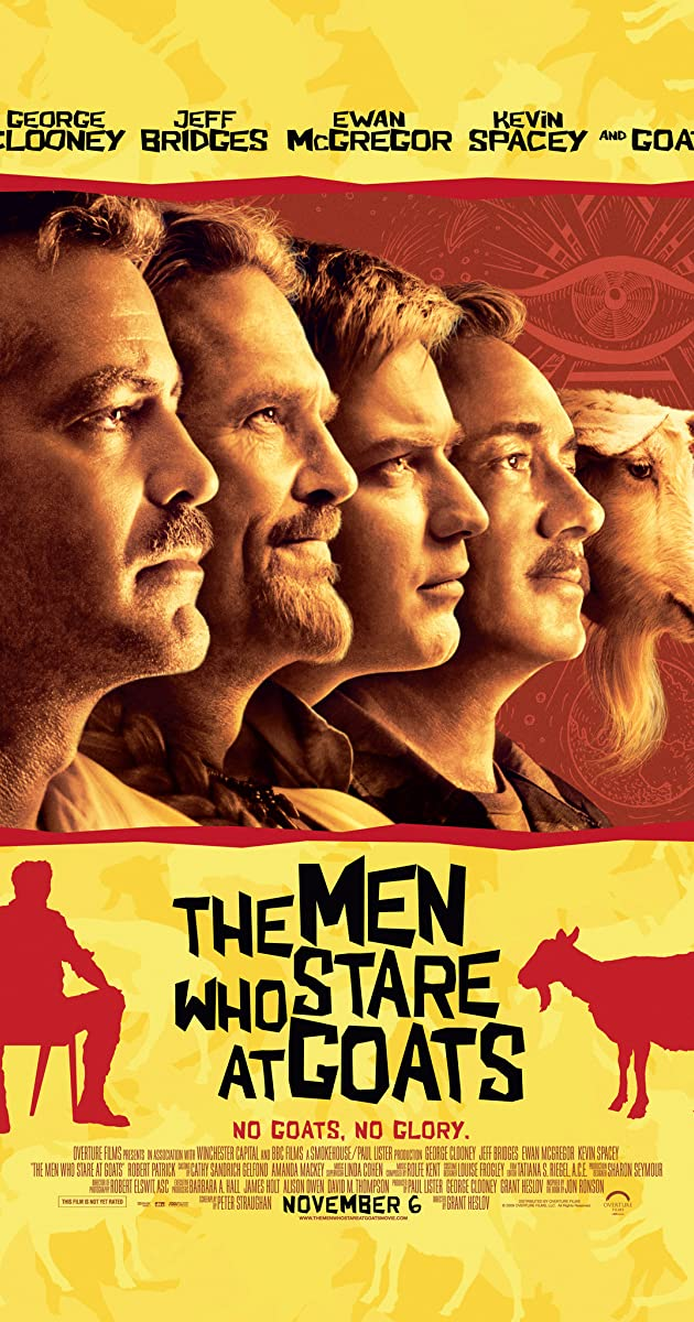 Vyrai, kurie spokso į ožkas / The Men Who Stare At Goats (2009)