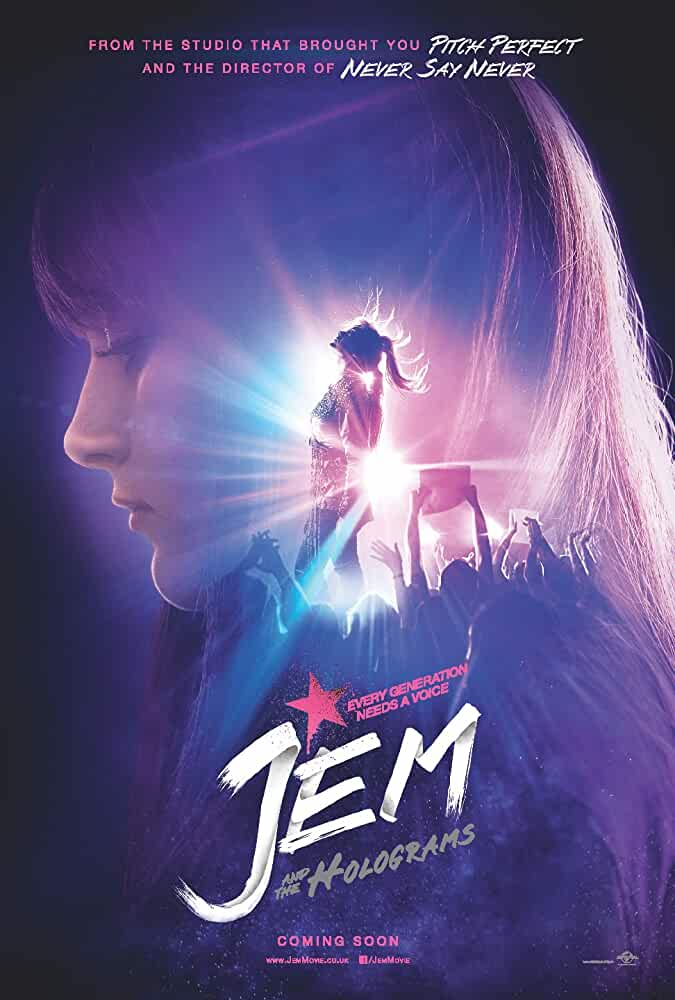 DL Movies Jem and the Holograms (2015) Dual Audio [Hindi-DD5.1] 720p BluRay ESubs Download on www.dlmocies365.com