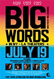 Big Words (2013) Poster - Movie Forum, Cast, Reviews