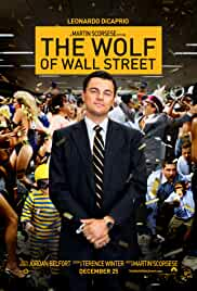 The Wolf of Wallstreet film poster