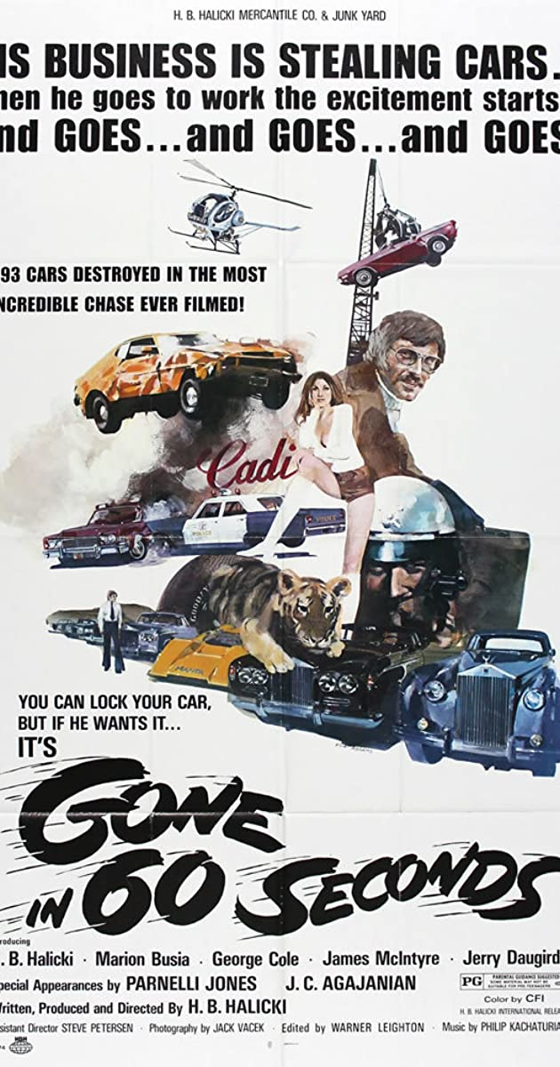 gone in 60 seconds 1974 imdb