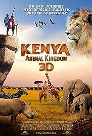Kenya 3D: Animal Kingdom Poster