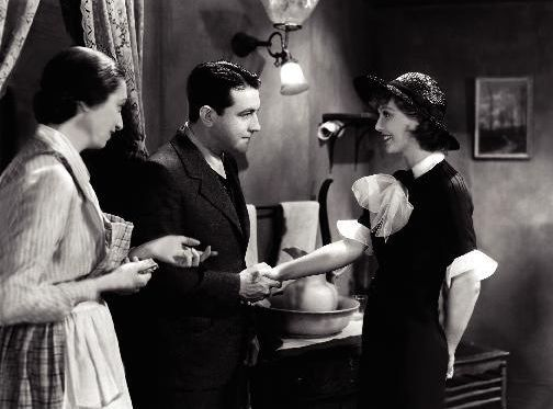 Richard Barthelmess, Aline MacMahon, and Loretta Young in Heroes for Sale (1933)