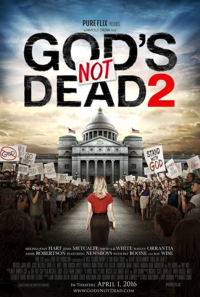 Dievas nemiręs 2 / Gods Not Dead 2 (2016) 0