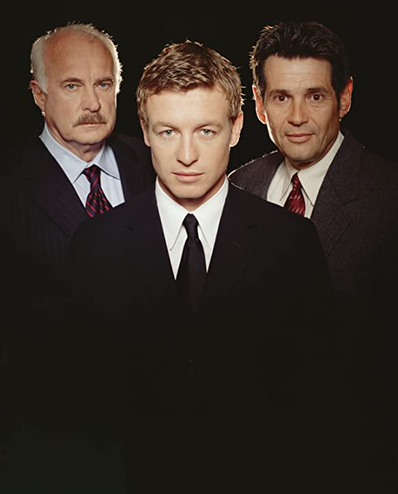 Dabney Coleman, Simon Baker, and Alan Rosenberg in The Guardian (2001)