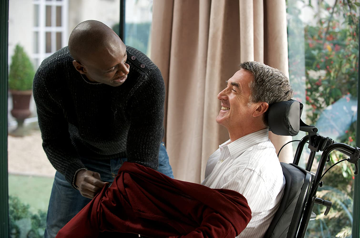 the intouchables The intouchables - after he becomes a quadriplegic from a paragliding accident, an aristocrat hires a young man from the projects to be his caretaker.