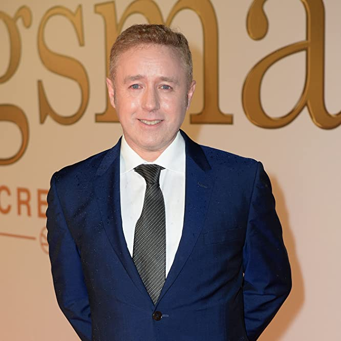 Mark Millar at an event for Kingsman: The Secret Service (2014)