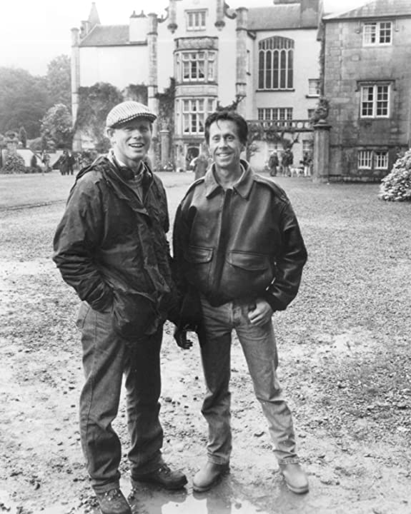 Ron Howard and Brian Grazer in Far and Away (1992)