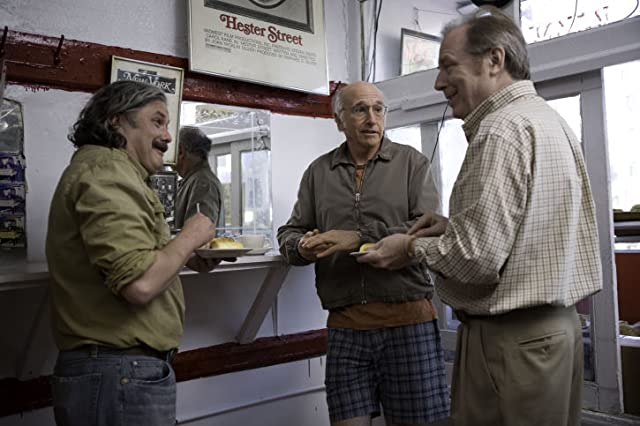 Larry David, Conleth Hill, and Michael McKean in Whatever Works (2009)