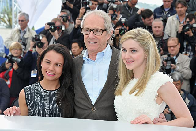 Ken Loach, Siobhan Reilly, and Jasmin Riggins at an event for The Angels' Share (2012)