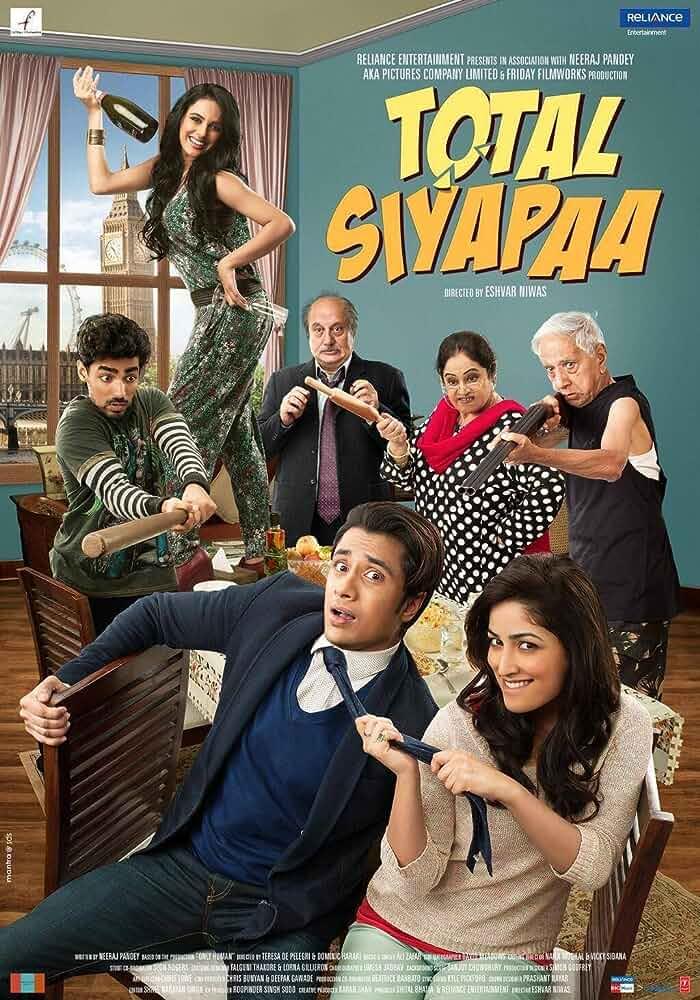 Total Siyapaa 2014 720p DVDRip Watch Online Free Download at movies365