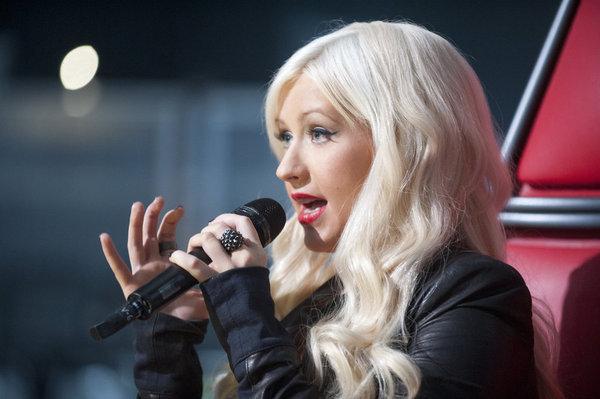 Christina Aguilera in The Voice (2011)