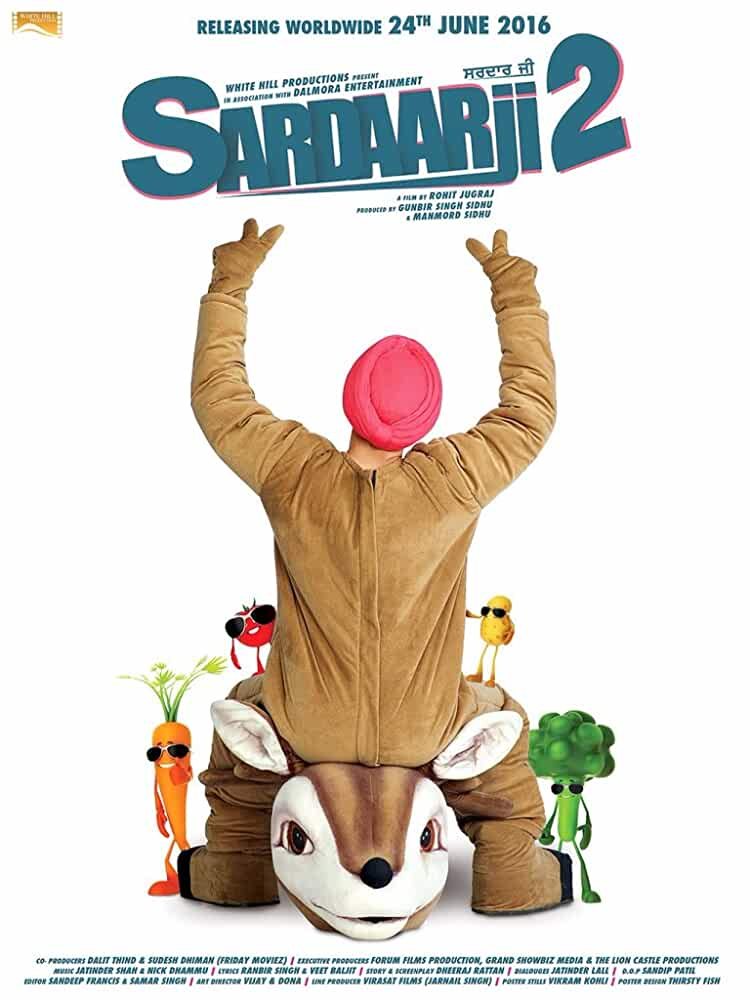 Sardaarji 2 2016 Dual Audio 720p HDRip Download