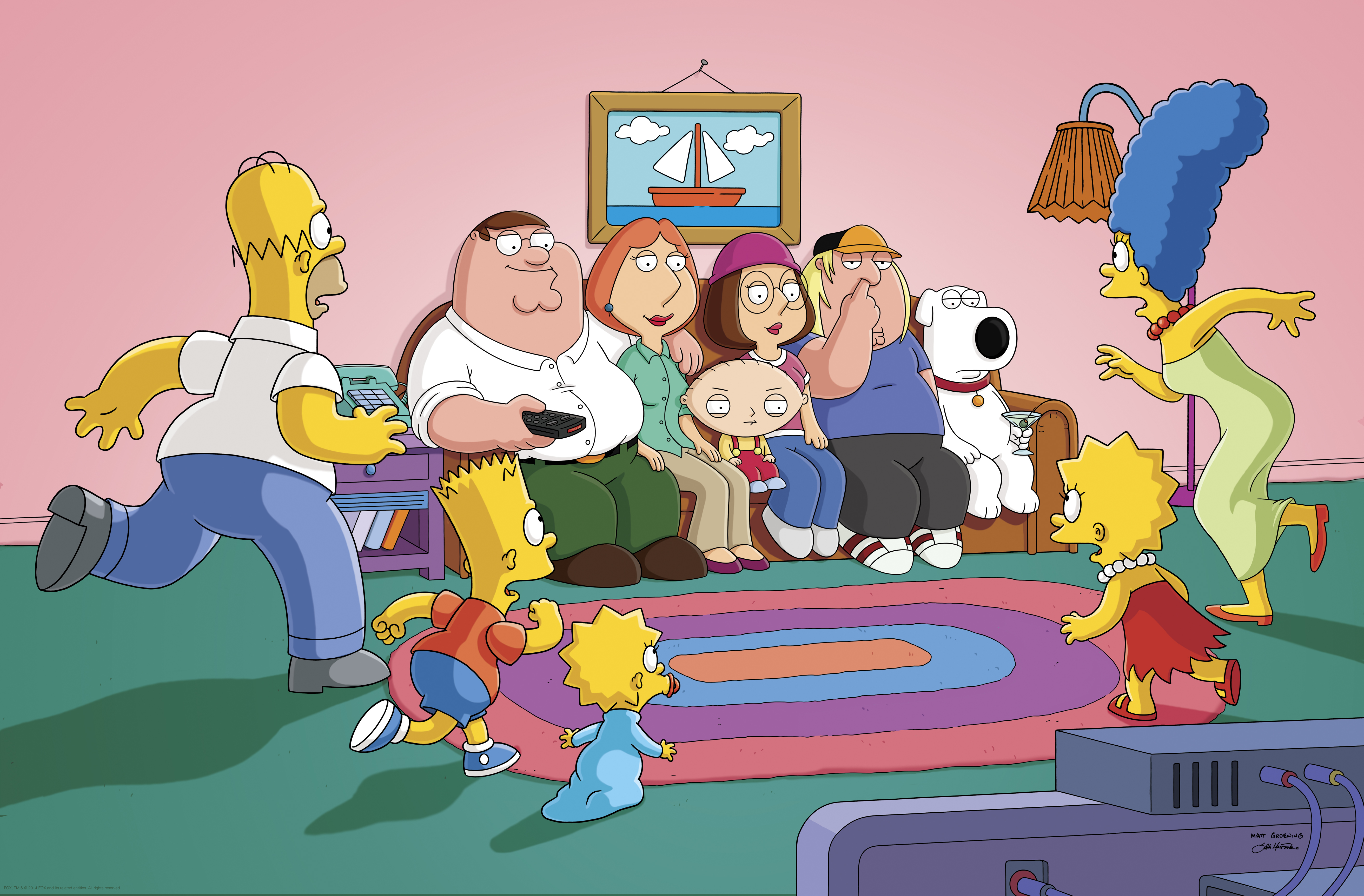 quotfamily guyquot the simpsons guy tv episode 2014 imdbpro