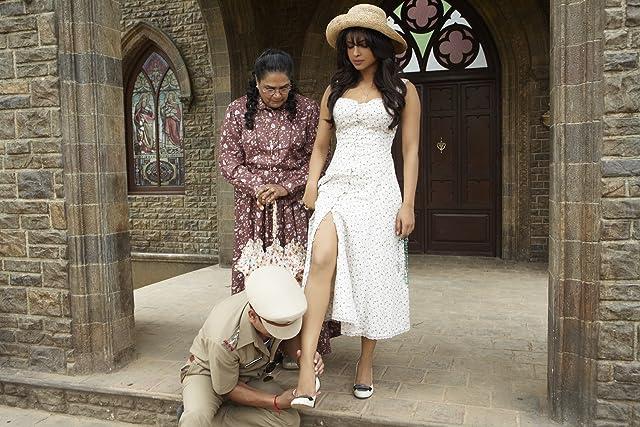 Usha Uthup, Annu Kapoor, and Priyanka Chopra in 7 Khoon Maaf (2011)
