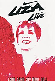 Liza Minnelli Live from Radio City Music Hall Poster