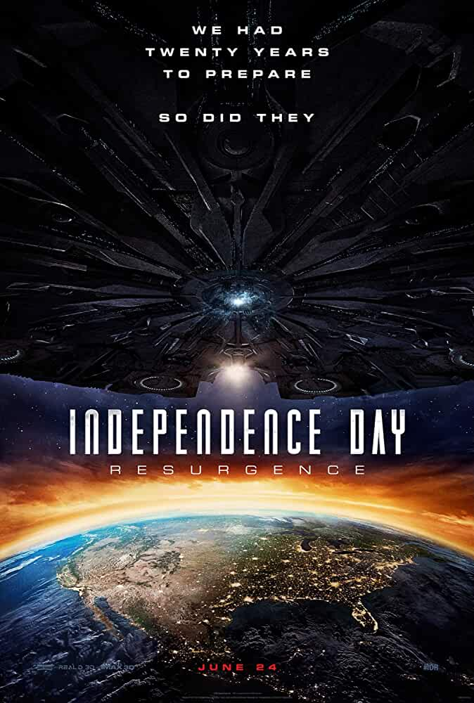 Poster Independence Day Resurgence 2016 Full HD Movie Download Dual Audio 720p
