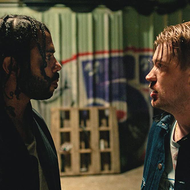 Rafael Casal and Daveed Diggs in Blindspotting (2018)