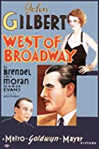 West of Broadway (1931) Poster