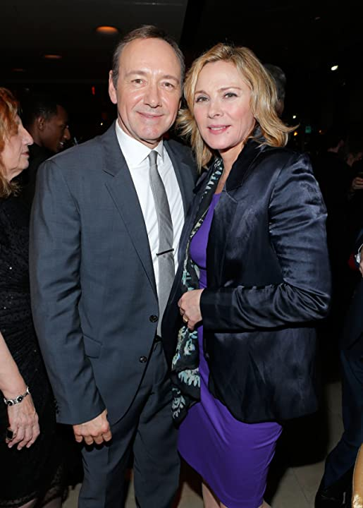 Kevin Spacey and Kim Cattrall at an event for House of Cards (2013)