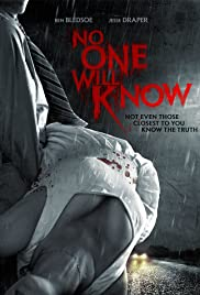 No One Will Know Poster