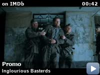 inglourious basterds video gallery imdb inglourious basterds