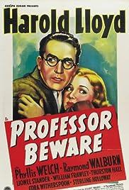 Professor Beware Poster