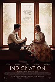 Indignation (2016) Poster - Movie Forum, Cast, Reviews
