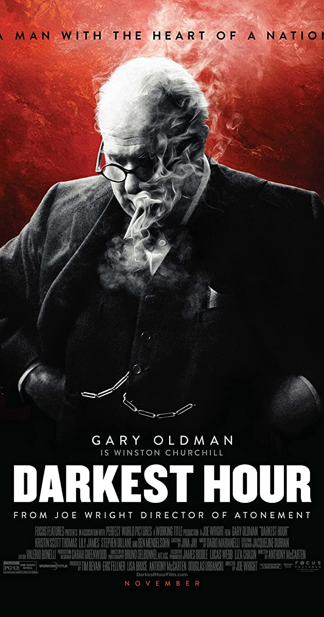 Image result for darkest hour poster imdb